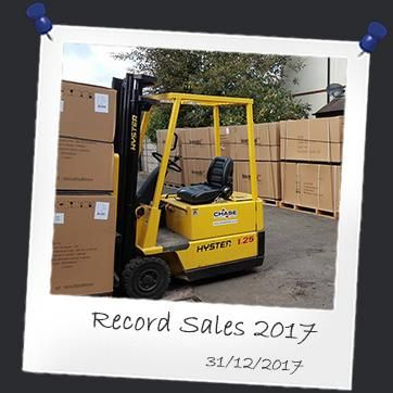 Record sales 2017