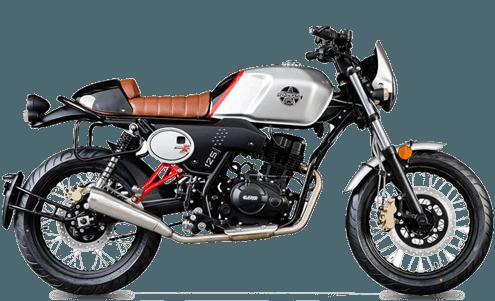 UM Scrambler 125cc