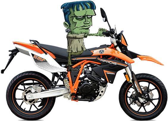 motorcycles Supermoto