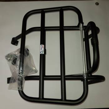 Royal alloy front carrier black b4.2