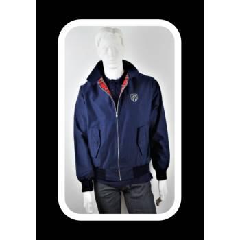 Royal Alloy Harrington Jacket Blue M
