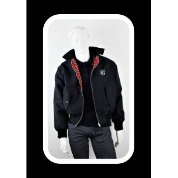 Royal Alloy Harrington Jacket Black L