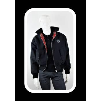 Royal Alloy Harrington Jacket Black L