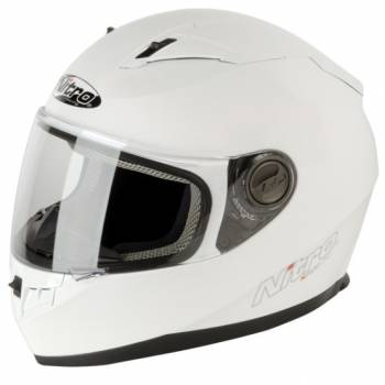 N2100 WHITE FULL FACE HELMET