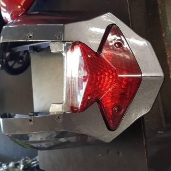 Aspire rear light and fairings grey used