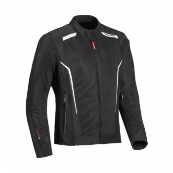 IXON Cool Air jacket black and white s