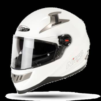 UNO 2200 WHITE FULL FACE HELMET