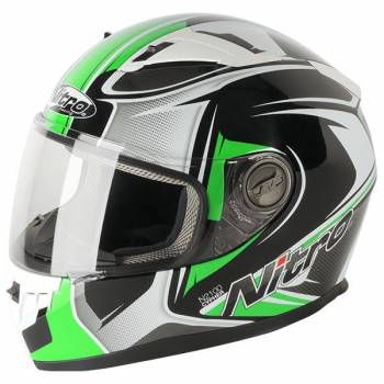 CYPHER GREEN FULL FACE HELMET
