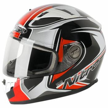 CYPHER RED FULL FACE HELMET