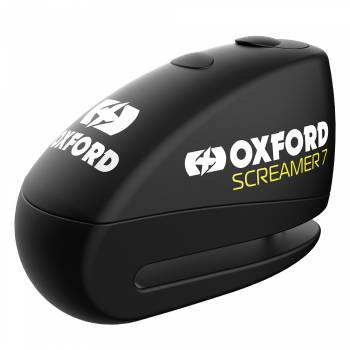 oxford screamer 7 disc alarm black