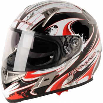 GMAC RENEGADE RED FULL FACE HELMET