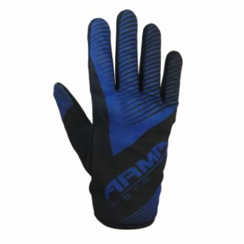 motorcross glove  blue 2XL